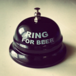 Piwny dzwonek retro Ring for beer